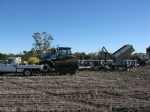 Planting barley - filling up