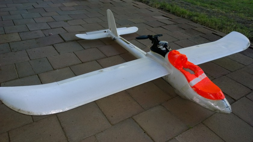 UAV Finwing Penguin: Clocked up some hours