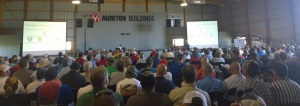 Precision Ag Aerial Show 2014: Full house